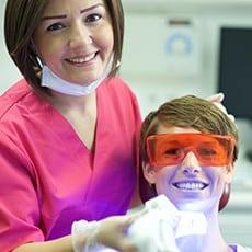 Zahnbleaching Behandlung