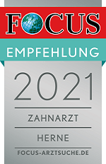 Focus Online Siegel: Zahnarzt Herne 2021