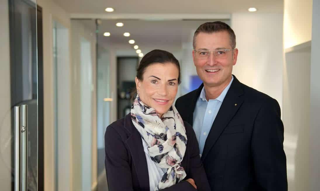 Zahnarzt Dr. Rüdiger Mintert und Zahnärztin Dr. Dorothee Wiedemann