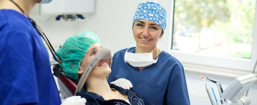 Lachgas Zahnarzt