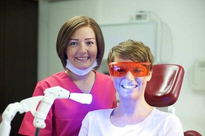 power bleaching beim zahnarzt