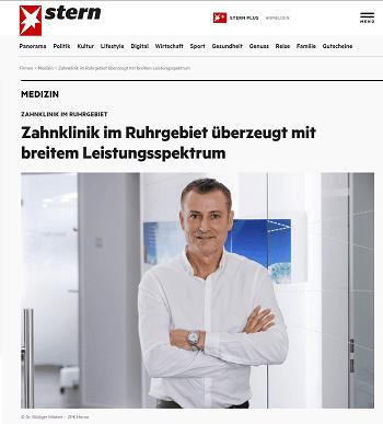 Thumbnail Stern Advertorial - Zahnklinik Ruhrgebiet
