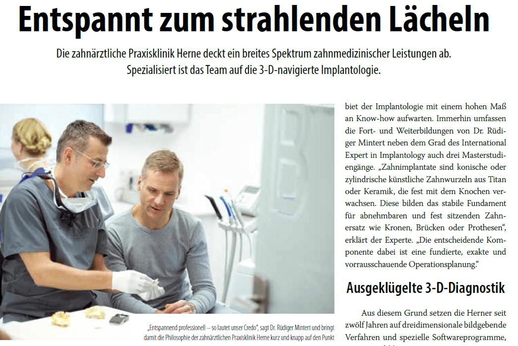 Zahnarzt-artikel-revier-manager
