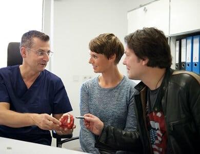 Zahnarzt-Beratung zweite Meinung
