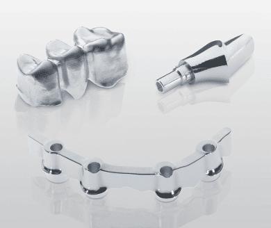 Zahnkronen Brücken Metalllegierung