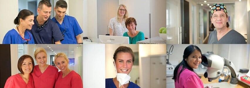 Spezialisierte Zusammenarbeit wie in einer Zahnklinik